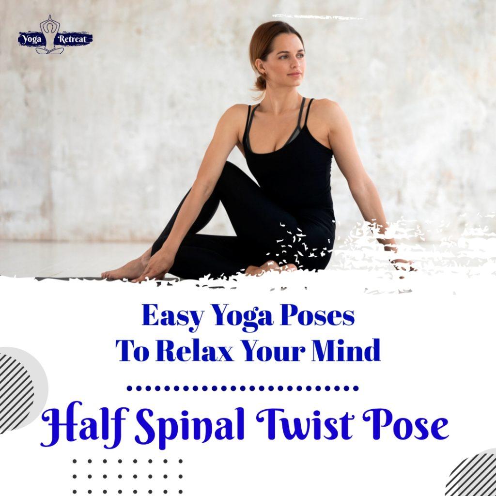 Half Spinal Twist Pose