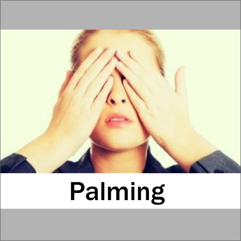 palming