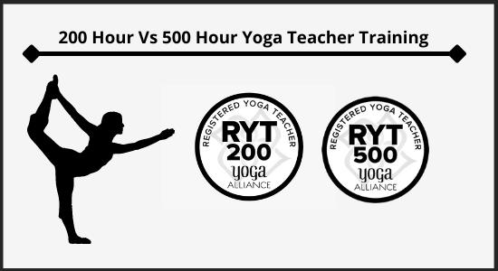 200 hour vs 500 hour RYT