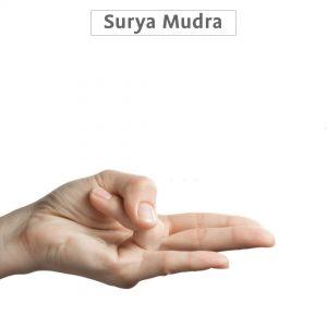 Surya Mudra with pics