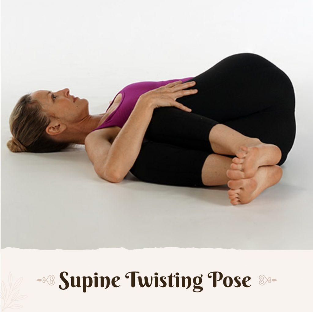 Supine Spinal Twist